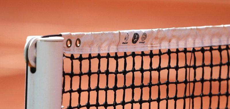 Abbau der Tennisplätze mit Rekordbeteiligung