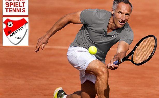 Es kann wieder Tennis-Doppel gespielt werden.