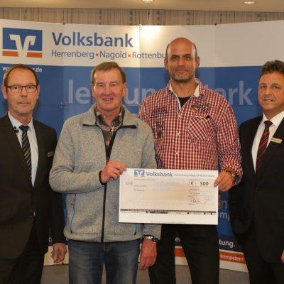 SpendenAdvent 2018  der Volksbank Herrenberg-Nagold-Rottenburg-Stiftung