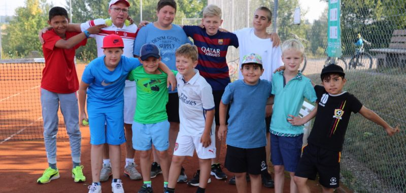 Tennis-Jugendwoche beim SVA