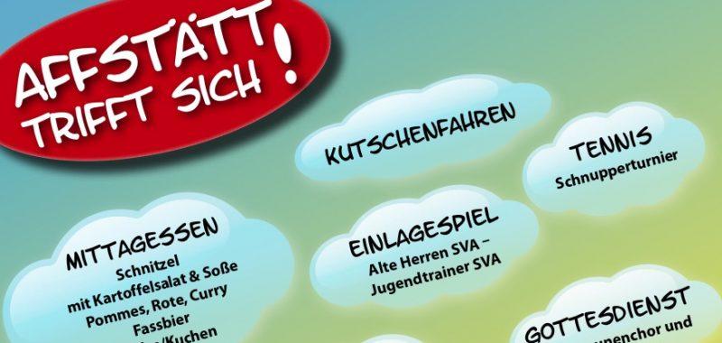 Der SV Affstätt lädt ein zum 8. Sommerfest auf dem Rötelberg