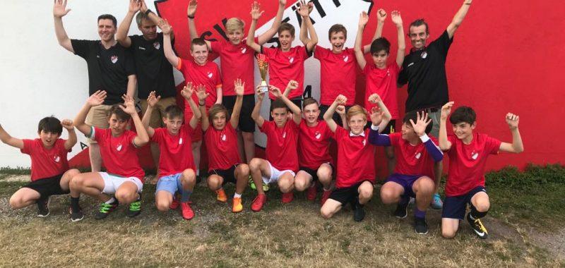 Ein Verein stemmt sich gegen den Trend - Jugendfußball beim SVA